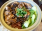 Singapore claypot chicken rice