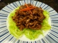 Chinese bean-paste pork