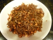 Singapore fried Anchovies with peanuts