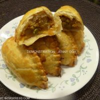 Singapore Curry Puff (Baked) 新加坡咖喱饺 (烘焙)