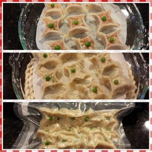 Chinese steamed dumplings (siewmai)