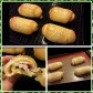 Ham and cheese chinese buns